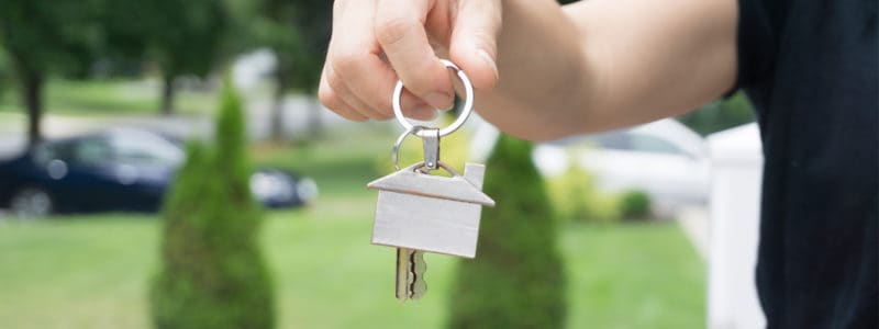 Holding Keys - Investment Property